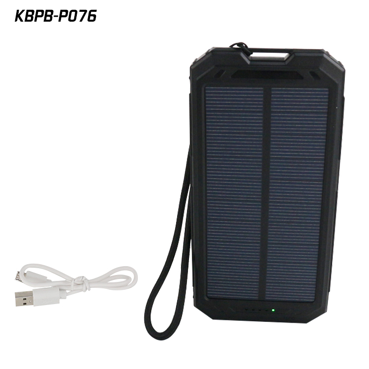 high quality 10400mah solar usb charger power bank for xiaomi