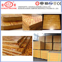 China bamboo pallet for brick making machine / hollow block machine pallet for sale / construction production line pallets
