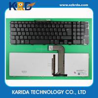 Wholesale Computer parts Notebook Keyboard for Dell Inspiron 17R N7110 laptop keyboard layout FR French