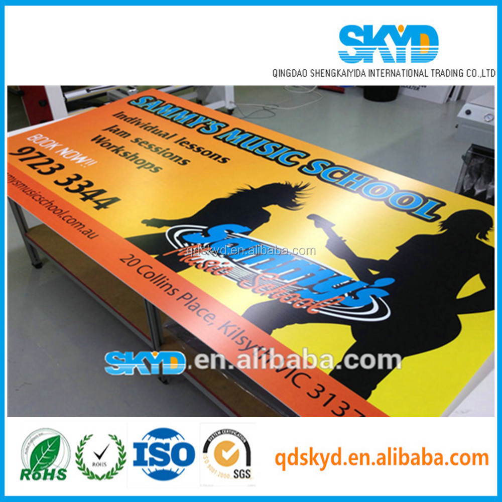 billboard plastic advertising board