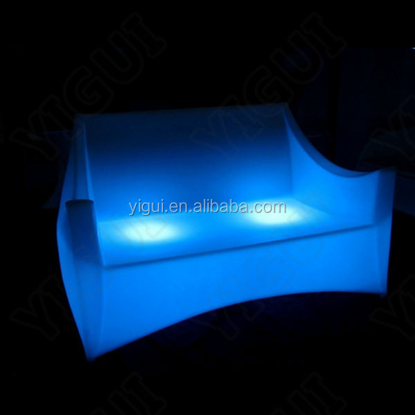new items and hot sale led bar sofa and chairs used in club