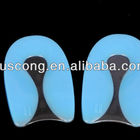 high quality silicone gel foot care heel cup insole
