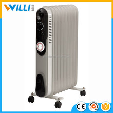 oil filled ceramic heater and air blow fan heater with adjustable thermostat control