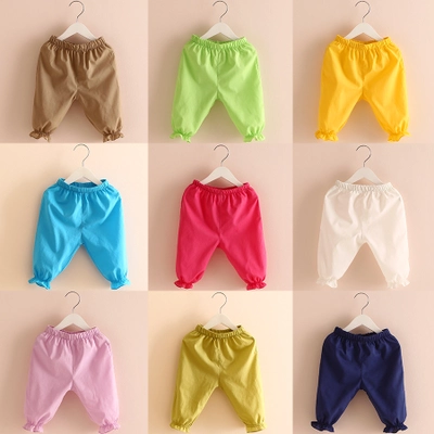 2016 summer bloomers for kids colorful fashion cotton children pants