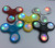Led Flashing TRI Fidget Hand Spinner with Button Switch