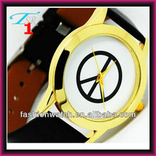 Promotion hot fashion Japan movt alloy ladies leather band wrist watch women watch