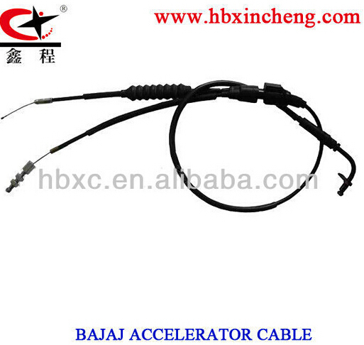 MOTORCYCLE CONTROL CABLE.BAJAJ ACCELERATOR CABLE.