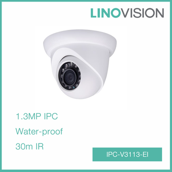 1.3 MP HD Network IP67 Water-proof Small IR Eyeball Camera