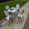 87CM square folding table indoor/outdoor flding table for dining/banquet/balcony