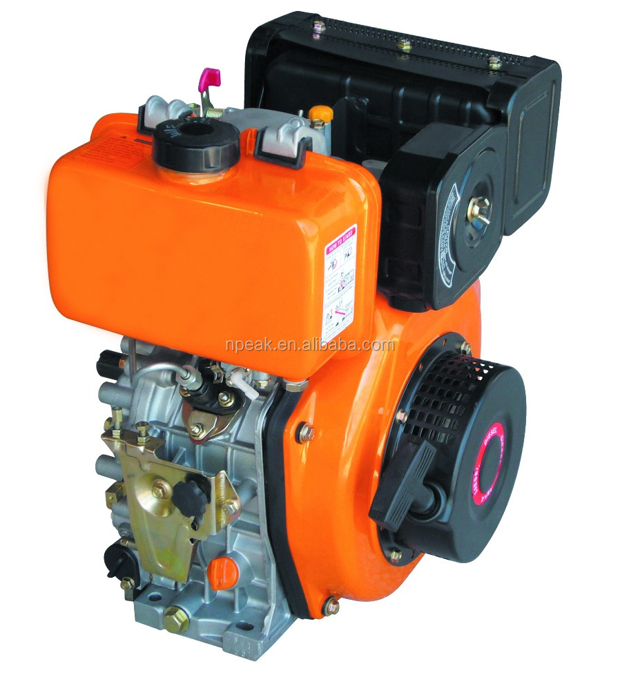 Single cylinder, 4-stroke, air-cooled direct injection,diesel engine 170,178,186,188