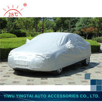 High quality fashion design silver full waterproof car cover