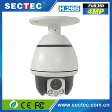 "4MP 30M ir 10X Zoom night version H.265 4"" IP ptz auto tracking camera"
