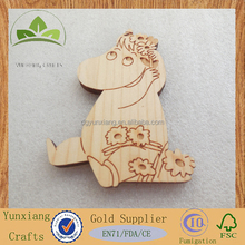 Custom kinds of shape wooden tags wooden hanging tag for Clothes