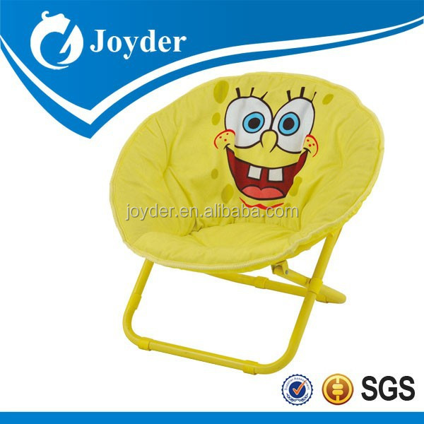 hot selling portable folding moon chair round folding chairs travel folding chair