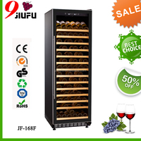 450L load 165 bottles cooling wine cooler series wine fridge with direct cooling