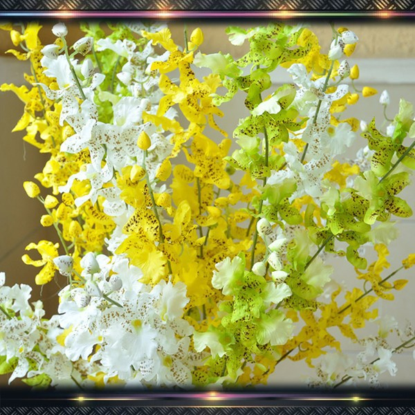 artificial flower wholesale dancing orchid