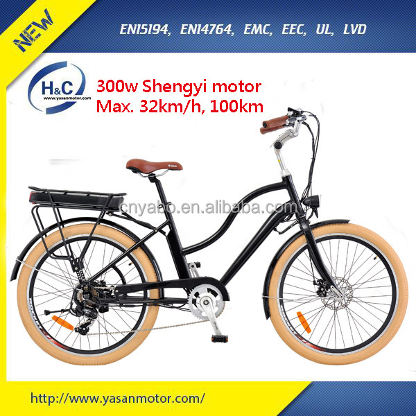 CE Certification 2 seats made in china electric motor bike with 300w battery
