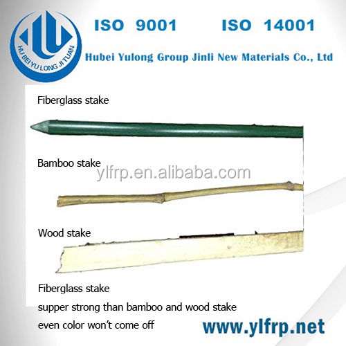 frp grp fiberglass rods good quality fishing rod blank and plastic plant stake