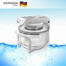 GermanPool Tailor made Reliable Stainless Steel 12Litre 1300W High Capacity Temperature control Mini Halogen Cooker