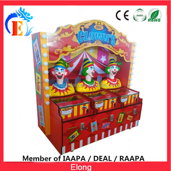 Elong Coin operated Game machine arcade redemption game arcade ticket game the Clown