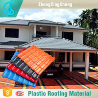 customized length high quality building materials corrugated greenhouses clay roof tile
