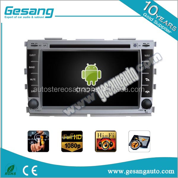 Android touch screen car stereo dvd player with reverse camera GPS navigation for Kia Forte support 3G/WIF BT
