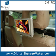 7 inch advertising taxi/car tft lcd monitor with motion sensor