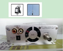 Factory price!1.5/15 watt fm transmit FMU SER ST-15B stereo PLL broadcast radio with 87--108MHZ + power supply + GP antenna