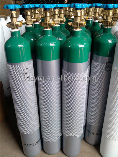 oxygen cylinder/CO2 / gas bottle/ tanks ISO9809/TPED standard