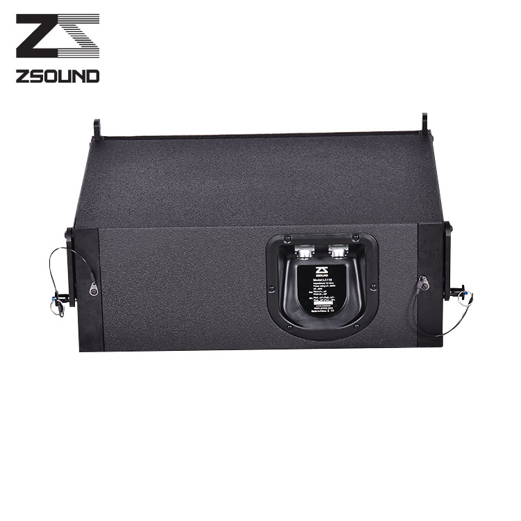 Zsound compact self-power mini line array system