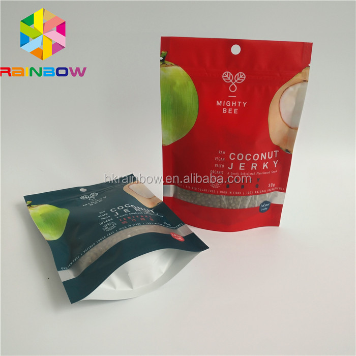 small adhesive plastic foil packing envelope bags packing for cookie