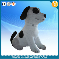 custom inflatable giant dog model, advertising inflatable dog cartoon balloon cheap prices