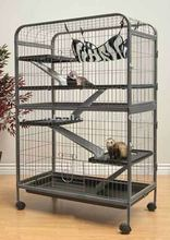 LIVING ROOM LARGE TOP QUALITY 5 LEVEL FERRET INDOOR HUTCH CAGE