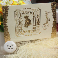 Attractive design wedding card holder custom made money paper box
