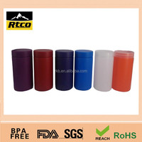 colorful customized HDPE plastic food and pill package