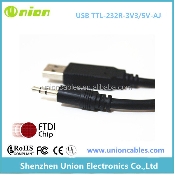 FTDI chipset USB TTL -2.5mm Audio Cable