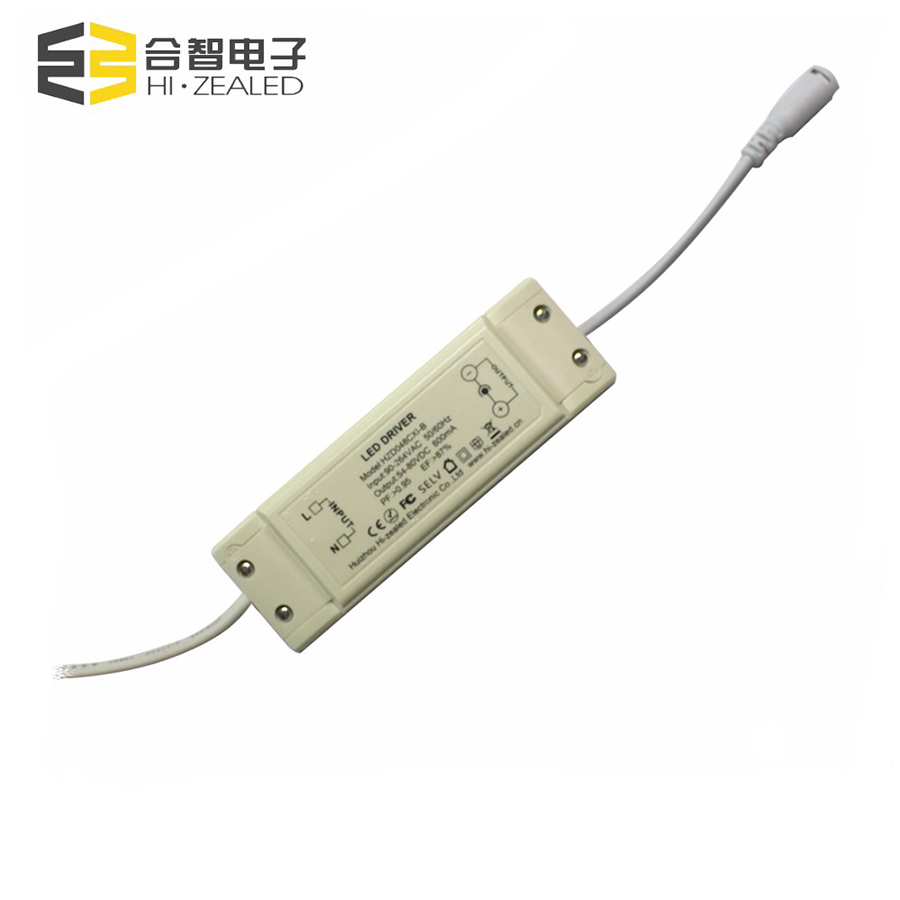 900mA Ip20 constant current led driver,44w led constant current driver for down light whit plastic case