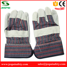 10.5 inches Cow split man leather gloves for working