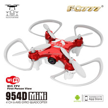 Pocket RC Quadcopter High quality WIFI FPV camera Mini RC Drone 6 Axis Gyro RC Quadcopter