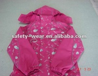rain jacket for kids pink color