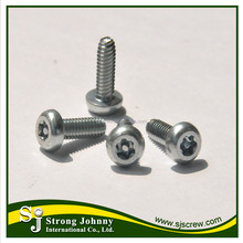 Shelf pin with screw pin adjustable torque table screw