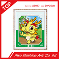 resin diamond embroidery animal series dragon cartoon DIY diamond painting cross stitch kits mosaic needlework