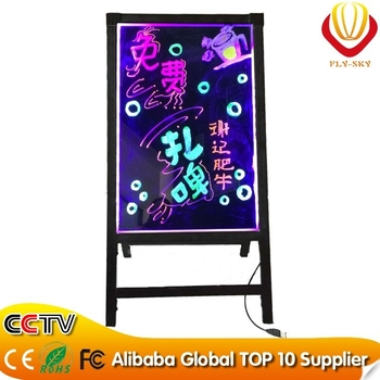New item led writing board with tripod best selling product