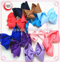 colorful boutique bows girls hair accessories
