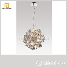 Silver Aluminum pendant lamp hot selling new products lighting interior decoration items