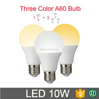 wireless tunable color temperature changing Double color / rgbw smart led light bulb