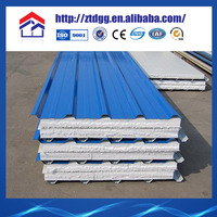 Sound insulated mgo sip eps sandwich wall panel/panels roofing from china suppliers