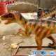 Hot sell walking art simulation carnivorous dinosaur baby