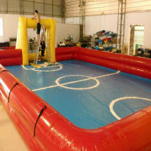 Inflatable Soap Soccer Field Soccer Playground For Sports Games