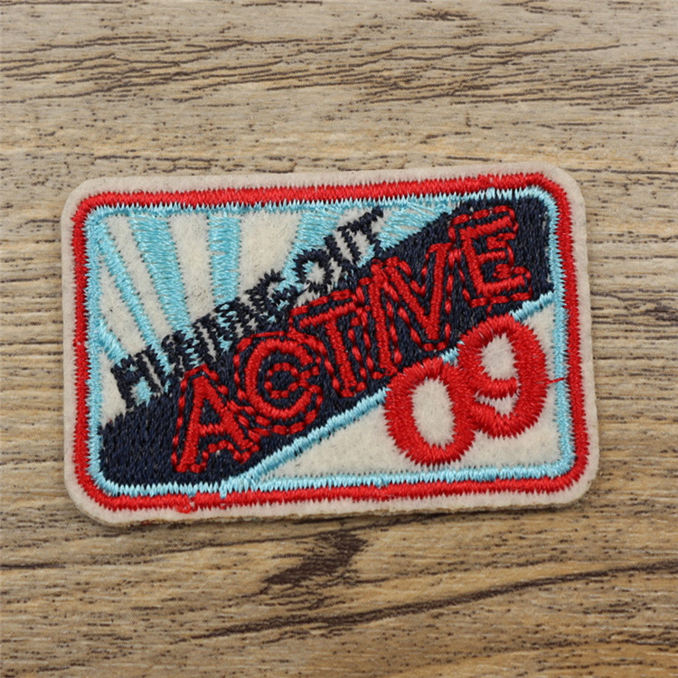 Water resistant polyester fabric adhesive glue tag patch